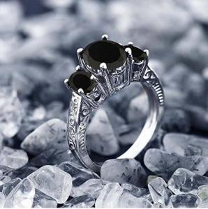 black-onyx-silver-ring