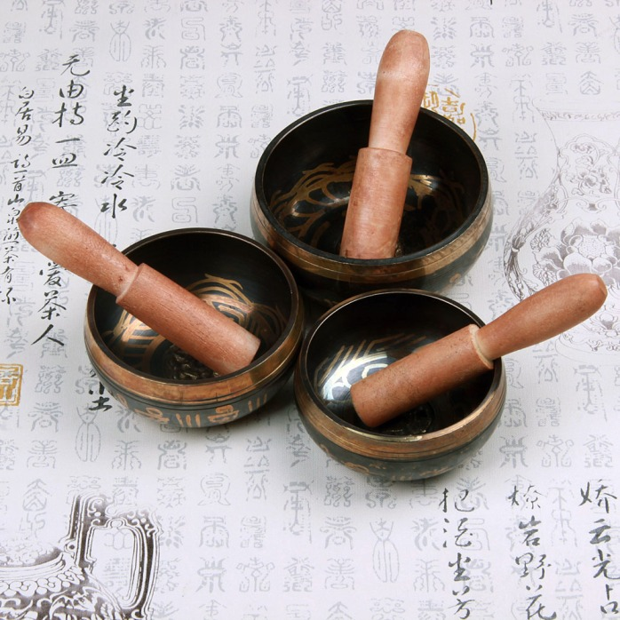healing singing bowls