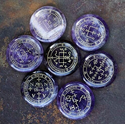 amethyst stone archangel symbols